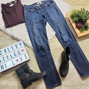 Paige Skyline Skinny Jeans Size 28 Medium Wash D7